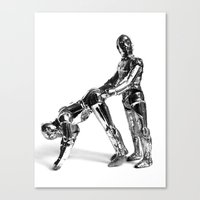 Droid Buttseks Canvas Print