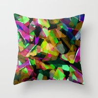Geometric Puzzel Throw Pillow