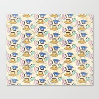 Lots Of Coffee Canvas Print