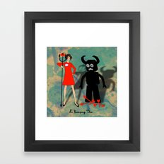 No Escaping This 6 Framed Art Print