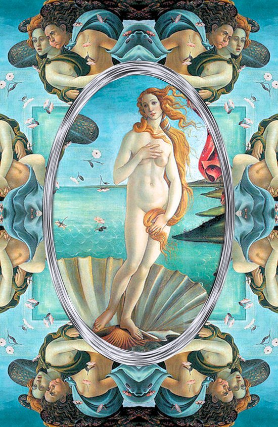 The Birth of Venus (If Botticelli would have had an i-phone!) Art Print