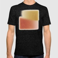Summer Weight Mens Fitted Tee Tri-Black SMALL