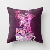 CAT !  Throw Pillow