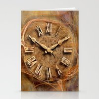 Tempus fugit ! Stationery Cards