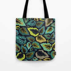 Going, Going, Begonia Tote Bag