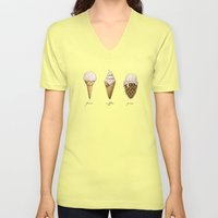 Ice Cream Cones Unisex V-Neck