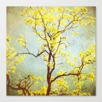 Yellow Tree Canvas Print