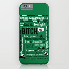 Supernatural - Dean Winchester Quotes Slim Case iPhone 6s