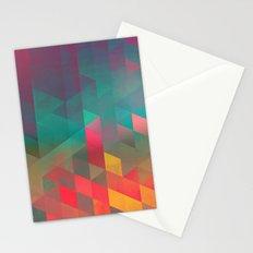byych fyre Stationery Cards