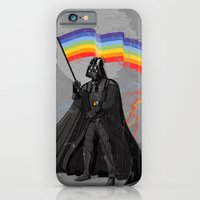 The Rainbow Side of the Force iPhone 6 Slim Case