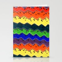 Anonymous Rainbow Stationery Cards