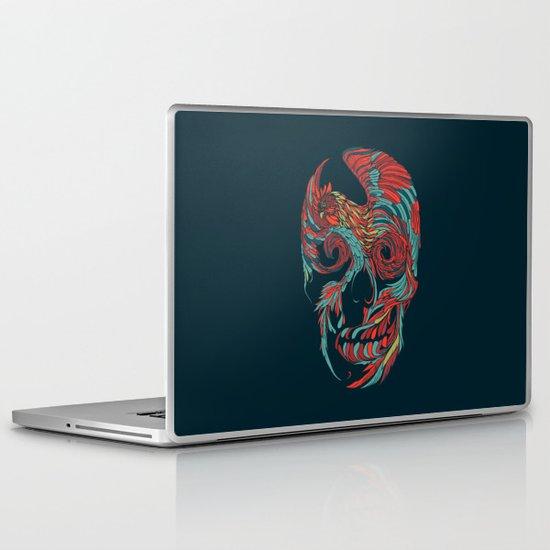 Rooster Skull  Laptop & iPad Skin