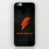 Heroes Never Die - for iphone iPhone & iPod Skin