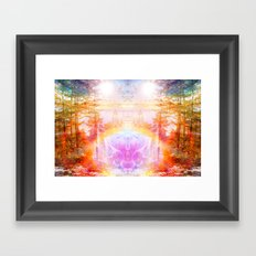 Become Framed Art Print