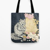 Big Bad Wolf Only Needed a Needle Tote Bag