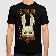 Rapture Masquerade Ball … Mens Fitted Tee Black SMALL
