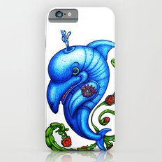 Dolphin Blue iPhone 6 Slim Case