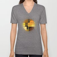 Textures/Abstract 92 Unisex V-Neck
