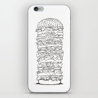 Giant Burger iPhone & iPod Skin