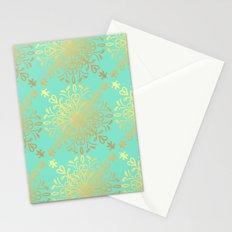 Elegance Golden Caramel  Stationery Cards