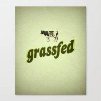 Grassfed Canvas Print