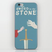 The Sword In The Stone -… iPhone & iPod Skin