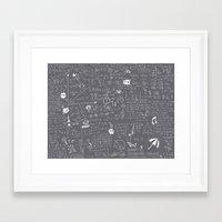 Maths Framed Art Print