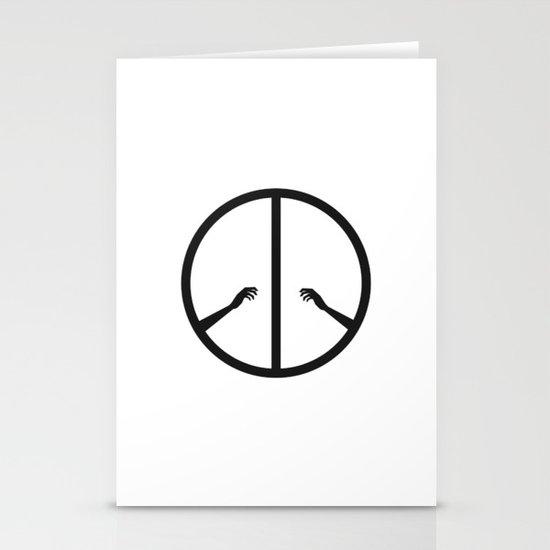Peace struggle Stationery Card