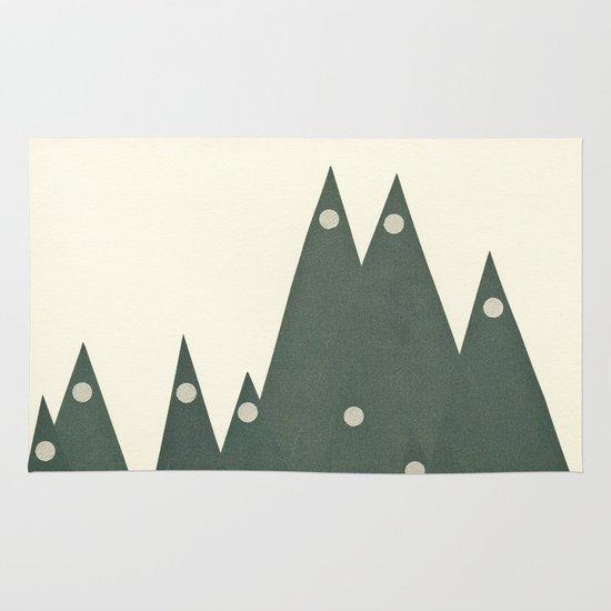 Moonlit Peaks Area & Throw Rug
