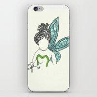 Tinkerbell Zen Tangle iPhone & iPod Skin