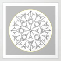 Paris in a Kaleidoscope Art Print