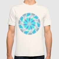 Circle Study No. 312 Mens Fitted Tee Natural SMALL
