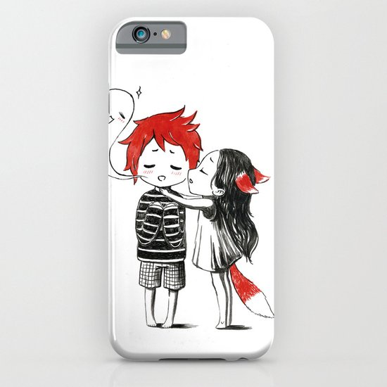 Boy and a Fox iPhone & iPod Case