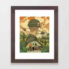 Vietnam Story 1 Framed Art Print