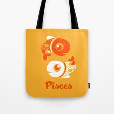 Pisces: the Fishes Tote Bag