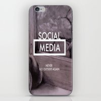 Social Media iPhone & iPod Skin