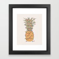 Tropical Lights Framed Art Print