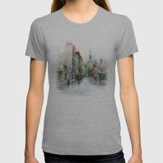 Street Womens Fitted Tee Athletic Grey SMALL