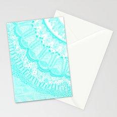 Doodle Madness AQUA Stationery Cards