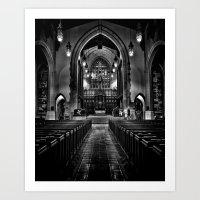 Metropolitan United Chur… Art Print
