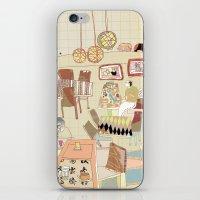 ---garden--cafe--- iPhone & iPod Skin