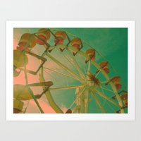 Wheel Carousel Art Print