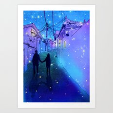 Every day with you Art Print