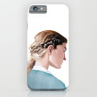 iPhone & iPod Case featuring Blond Girl by Erik Krenz