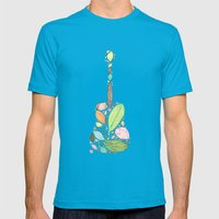Let your Guitar Sing B-Side Mens Fitted Tee Teal SMALL