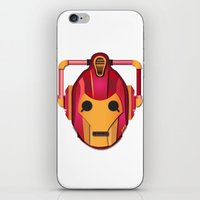 Cyber Iron Man iPhone & iPod Skin