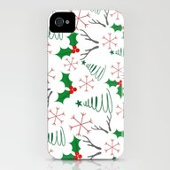 Christmas Pattern iPhone (4, 4s) Slim Case