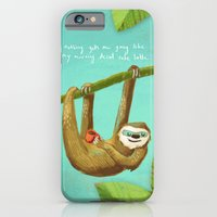 Nothing gets me going like my morning caffe latte iPhone 6 Slim Case