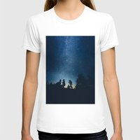 stars T-shirts featuring Follow the stars by HappyMelvin
