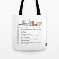 Pizza Dough Tote Bag